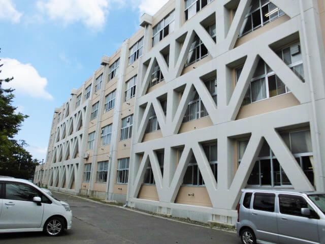 画像:秋田市立城東中学校