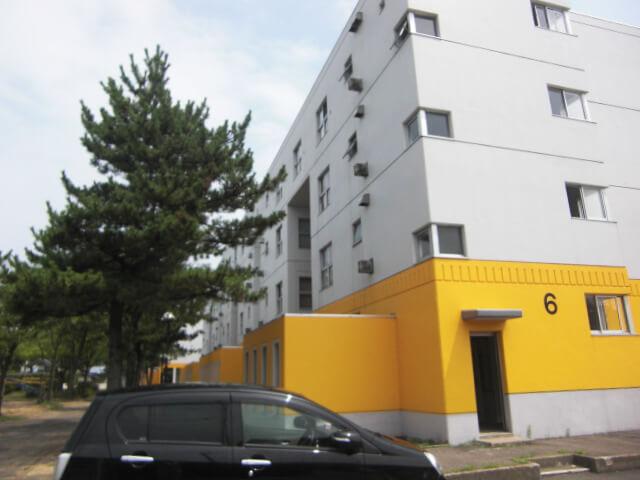 画像:新屋県営住宅外壁改修工事