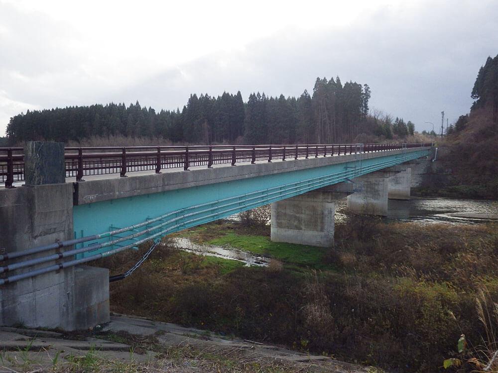 画像:市道松渕白熊戸島線 松渕橋橋梁補修工事