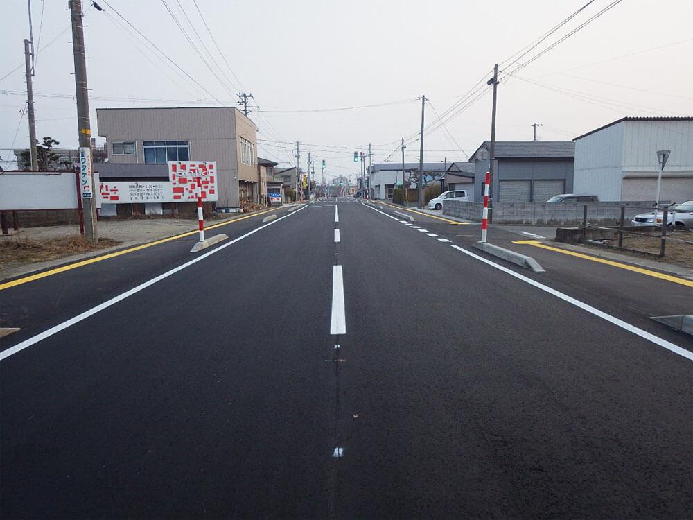 画像:地方道路交付金工事(交通安全)