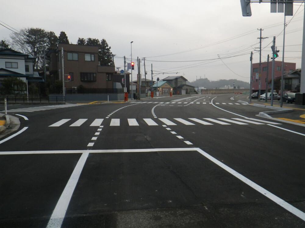 画像:地方街路交付金工事