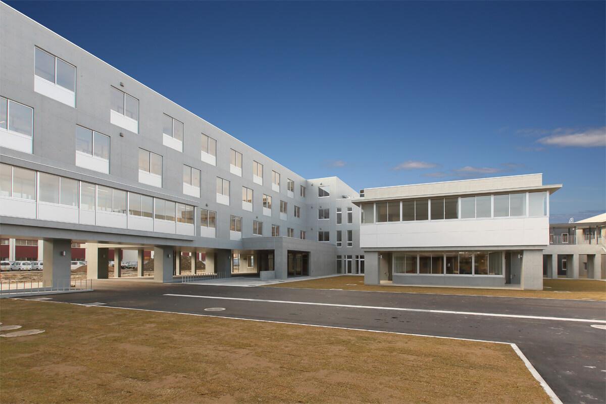 画像:秋田工業高等学校 校舎棟建築工事