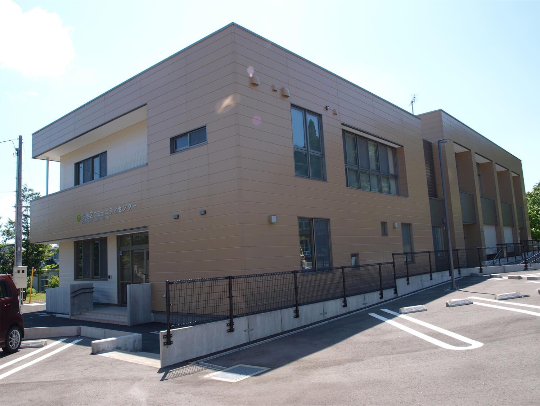 画像:桜地区コミュニティーセンター新築工事