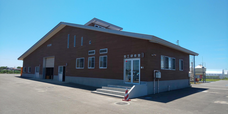 画像:秋田市園芸振興センター作業棟